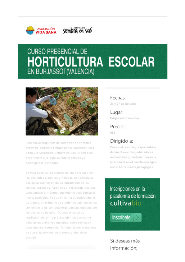 curs horticultura escolar burjassot octubre